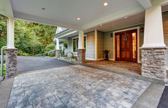 View Of Driveway